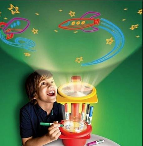 Crayola Minions Sketcher Projector @ Amazon