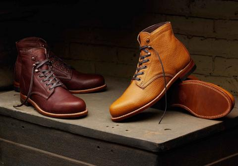 Wolverine 1000 Mile Centennial American Bison Leather Boots (For Men)
