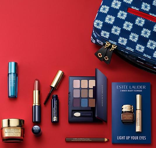 Receive an 8-piece Gift With Any $50 Estée Lauder purchase @ Bloomingdales