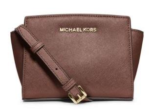 Selma Mini Saffiano Leather Crossbody @ Michael Kors