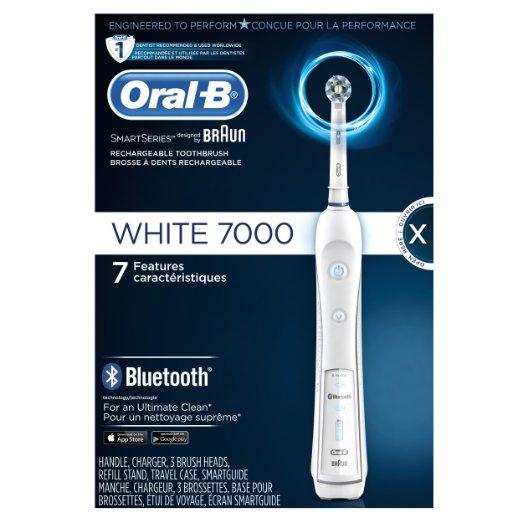 Oral-B Precision White 7000 Rechargeable Electric Toothbrush 1 Count