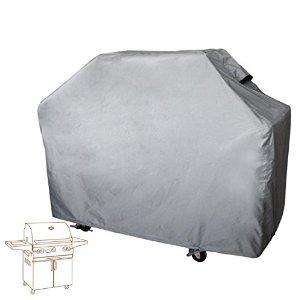Leader Accessories Heavy Duty Waterproof Grey Outdoor Gas Grill Cover