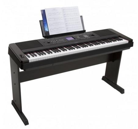 $799.99 Yamaha DGX-650 88-Key Graded Hammer Action Digital Piano+Open-Air Headphones + 19-Inch Piano Bench