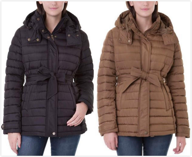 Women's Belted Puffer Jacket On Sale @ US polo Assn.