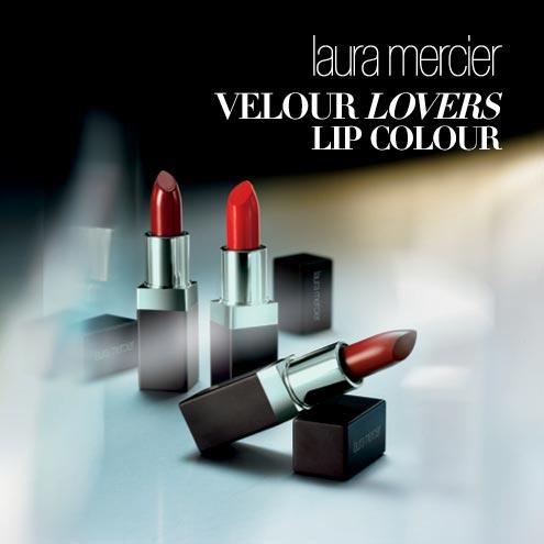 New Release Laura Mercier launched New Velour Lovers Lip Colour
