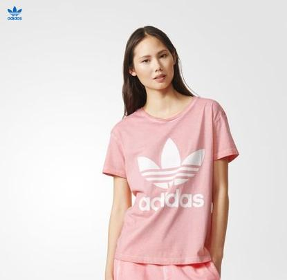Women's Originals Premium Essentials Washed Tee @ adidas