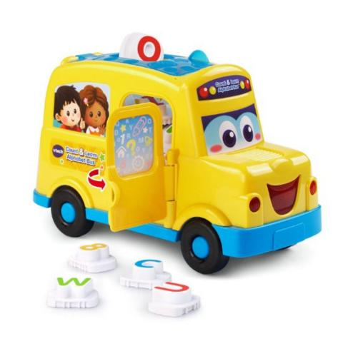 Lowest price! VTech Count and Learn Alphabet Bus