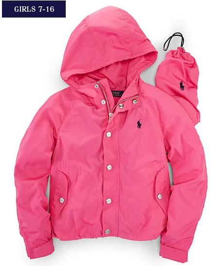 Ralph Lauren Girl's Anork Jacket