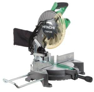 $99 Hitachi C10FCE2 15-Amp 10-inch Single Bevel Compound Miter Saw