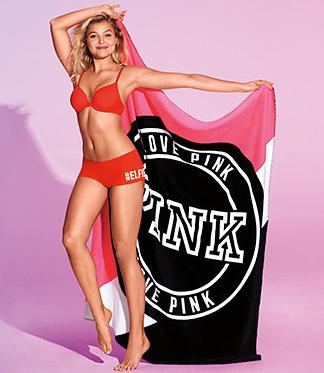 Free Pink Blanket with $75 Pink Purchase at Victoria's Secret