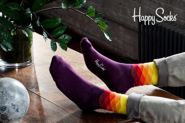 From $5.49 Happy Socks For Men @ Saks Off 5th