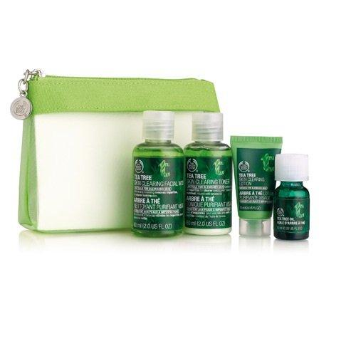 $12.50 The Body Shop Tea Tree Skin Care 4 Piece Kit