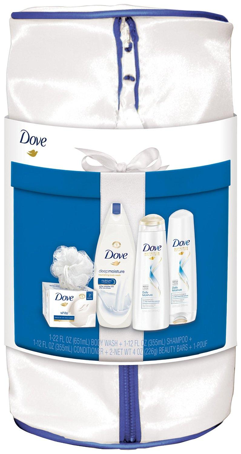 Dove Deep Moisture Gift Pack, 5 Count