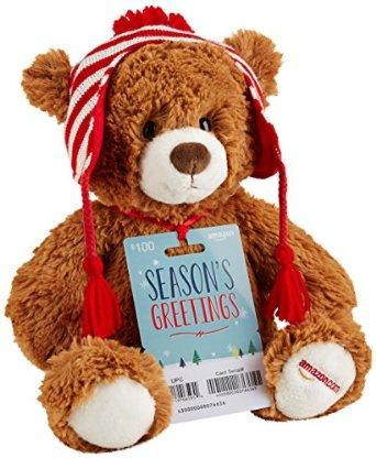 $250 Amazon.com $250 Gift Card with Teddy Bear