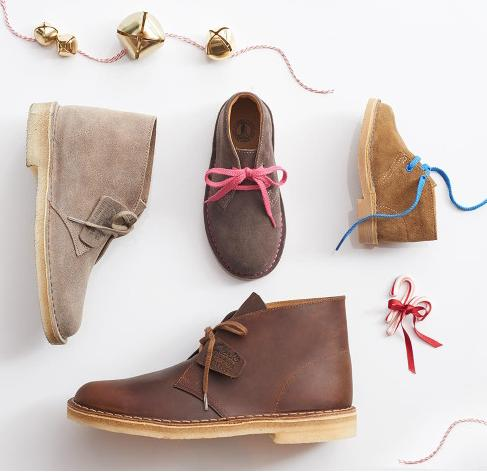 Up to 50% Off+Extra 25% Off Sitewide @ Clarks