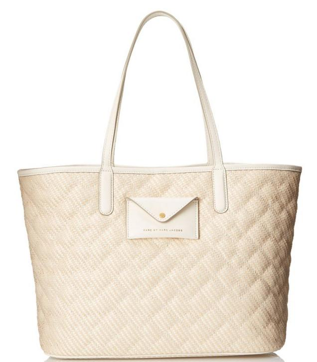 Marc by Marc Jacobs Metropolitote Straw 48 Tote Bag