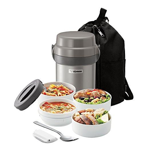 $29.99 Zojirushi SL-JAE14SA Mr. Bento Stainless Steel Lunch Jar, Silver