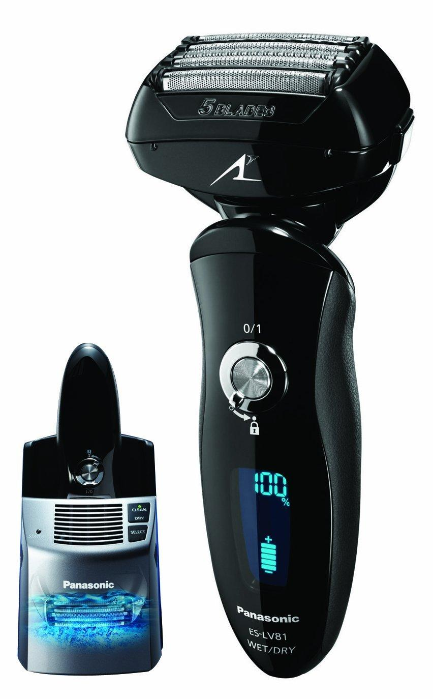 $173.04 Panasonic ES-LV81-K Arc5 Electric Shaver Wet/Dry with Multi-Flex Pivoting Head and Automatic Cleaning System