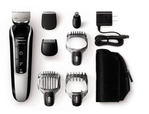 Philips Norelco Multigroom 5100, All-in-One Trimmer with 7 attachments (Model QG3364/42) Packaging May Vary