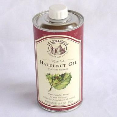 La Tourangelle Roasted Hazelnut Oil - Rich velvety flavor - Expeller pressed, Non-GMO - 16.9 Fl. Oz.