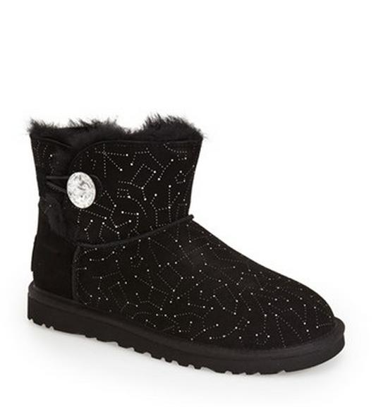 UGG® Australia 'Mini Bailey Button - Bling Constellation' Boot