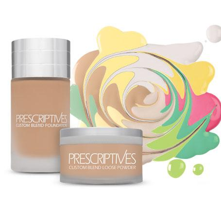 30% off Custom Blend Foundation and Powder @ Prescriptives