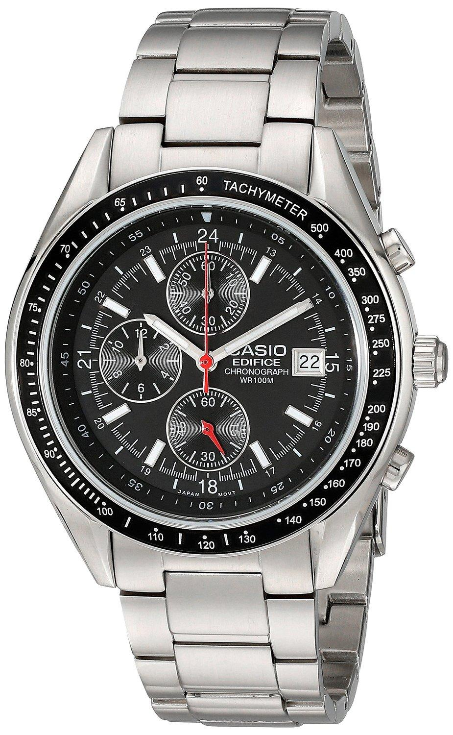 "$35.99 Casio Men's EF503D-1AV ""Edifice"" Stainless Steel Watch"