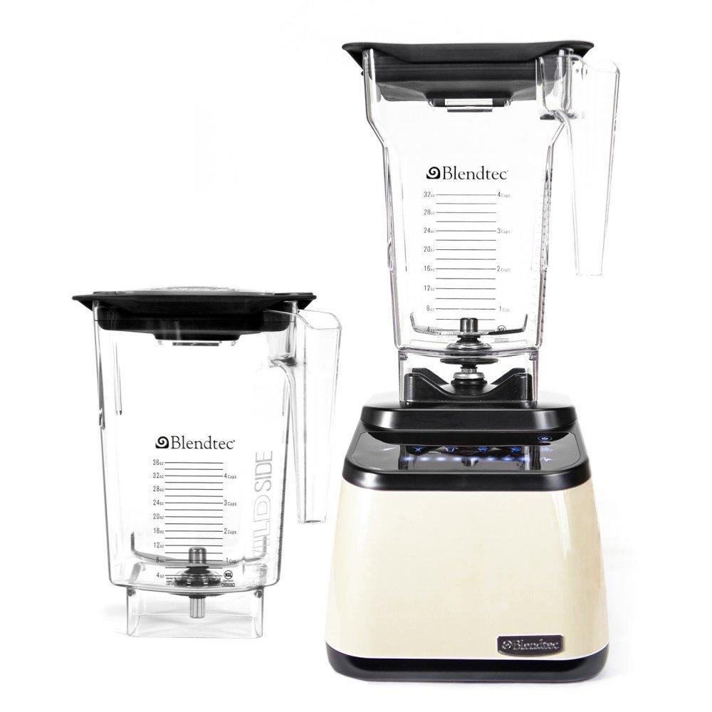 Blendtec Designer Series Blender, WildSide / FourSide Jars - Cream