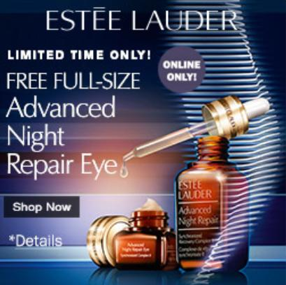 Free Full-Size Eye Gel Creme with Your Purchase of 1.7 oz. Advanced Night Repair Synchronized Recovery Complex II @ Bon-Ton