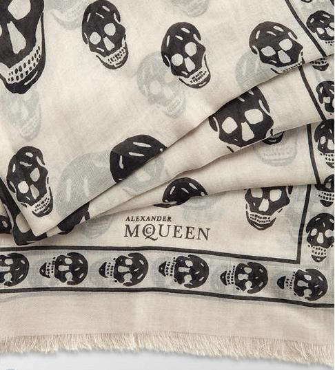 From $149.99 Alexander McQueen Scarf Sale @ Saks Off 5th