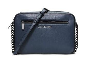 Jet Set Large Leather Crossbody @ Michael Kors