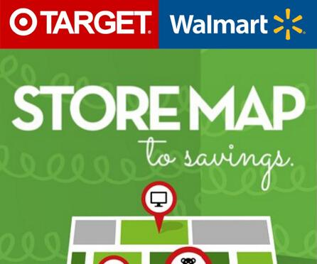 Target Walmart & Target Store Maps Now Live!