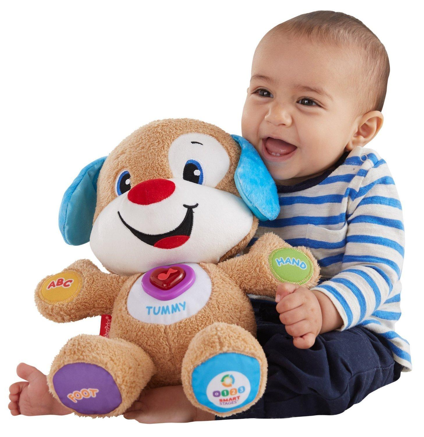 $9.99 Lowest Price Ever! Fisher-Price Laugh & Learn Smart Stages Puppy