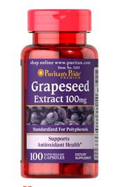 3 for $8.99 Grapeseed Extract 100 mg