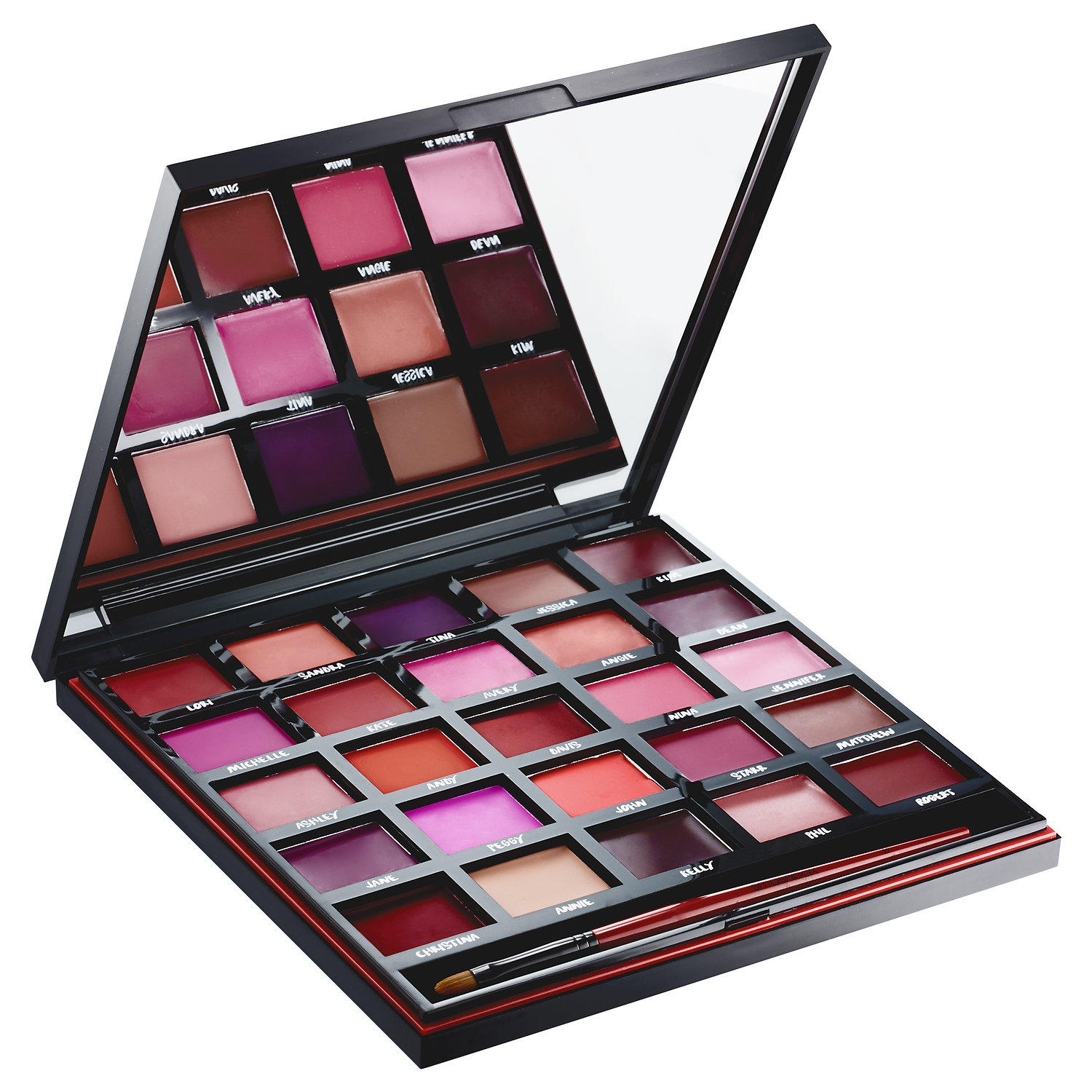 New Release Smashbox launched New For Twenty Five Years Our Lips Have Been Sealed Palette