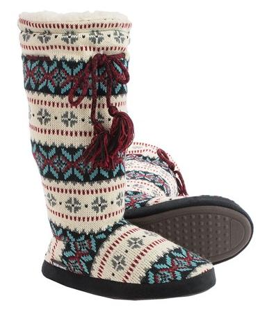 $9.99 Muk Luks Grommet Boot Slippers @ Sierra Trading Post