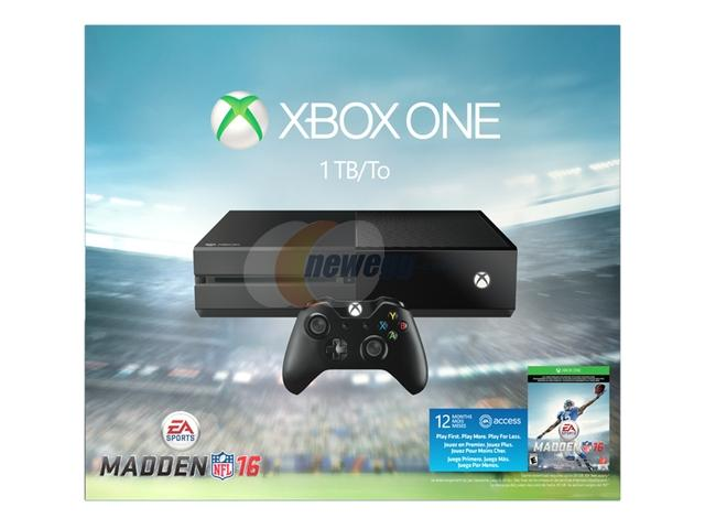$399.99 Microsoft Xbox One Madden 16 Limited Edition 1TB Bundle+ 3 HOT games