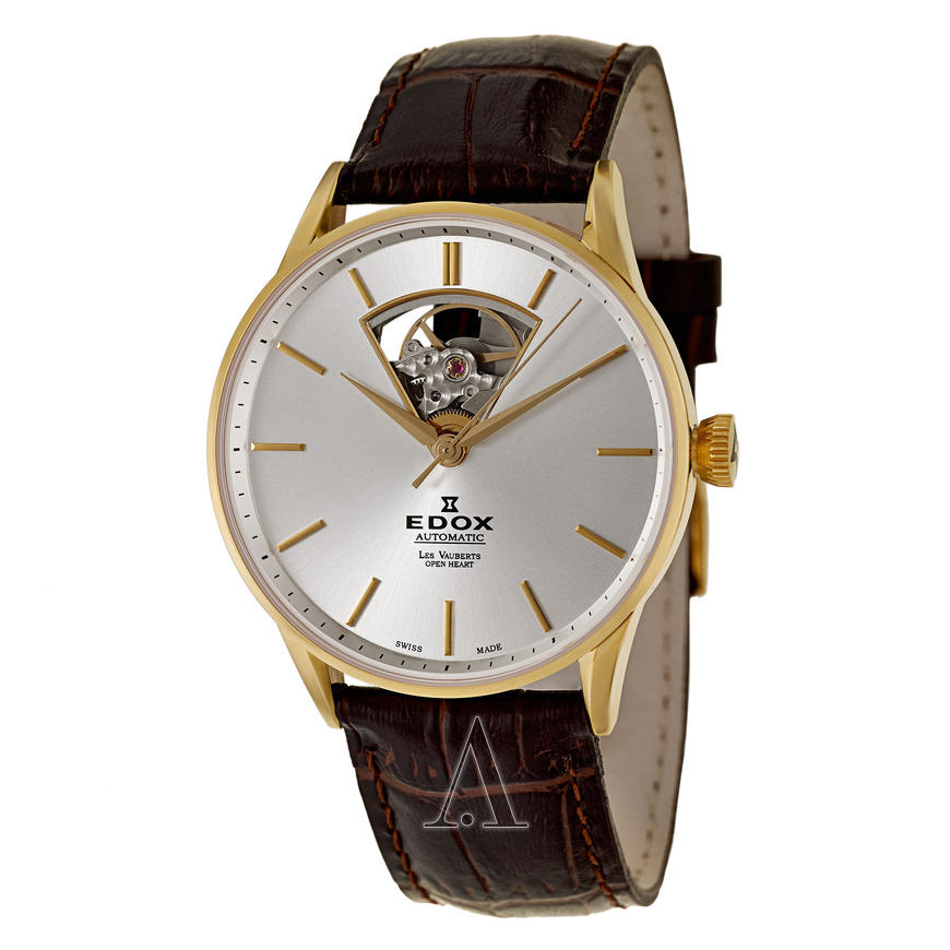 EDOX 85010-37J-AID MEN'S LES VAUBERTS AUTOMATIC WATCH