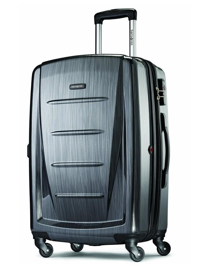 $81.49 Samsonite Luggage Winfield 2 Fashion HS Spinner 24