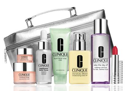 Get the Limited Edition The Gift of Great Skin For Only $49.5 With Any Purchase of $27 or More @ Clinique