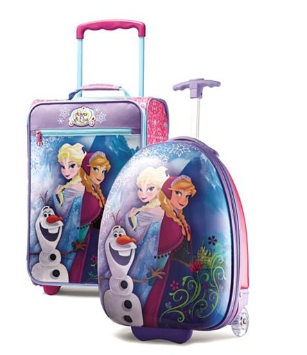 From $19.99+Extra 15% Off Disney Frozen Luggage by American Tourister @ Macy's