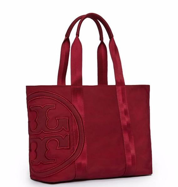 PENN NYLON SMALL ZIP TOTE @ Tory Burch