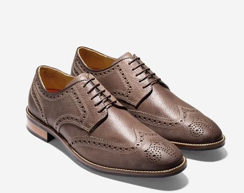 $76.78 Cole Haan Men's Lenox Hill Casual Wingtip Oxford