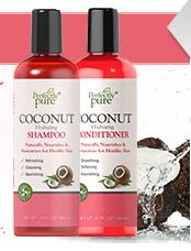 FREE Coconut Shampoo and Conditioner with Any $20 Order @ Puritans Pride
