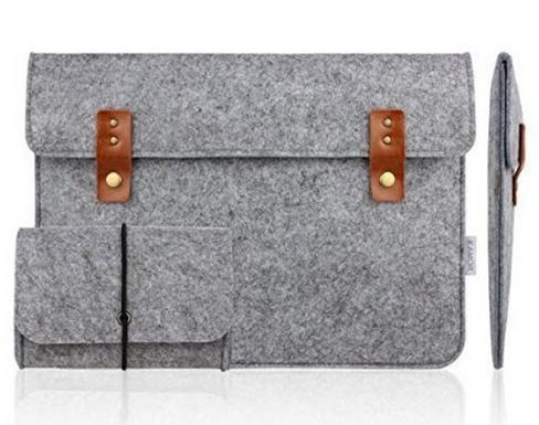 $10.39 Kamor® 13 13.3 inch Apple MacBook Air MacBook Pro Felt Laptop Case with Extra MacBook Charger Case