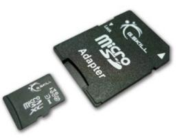 G.Skill 64GB Micro SDXC Flash Memory Card with SD Adapter