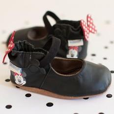 Robeez Disney Minnie Mary Jane Crib Shoe