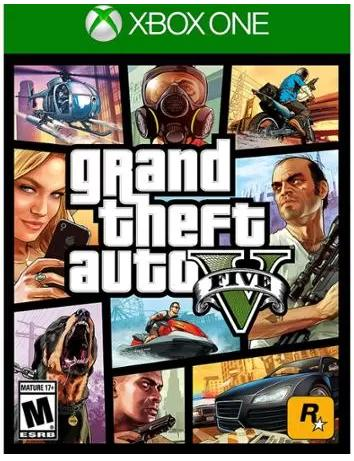 $34.49 《Grand Theft Auto V 侠盗猎车手5》 PS4版