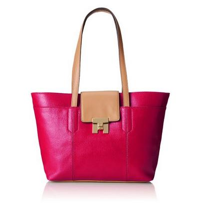 Tommy Hilfiger Turnlock Top-Handle Tote Bag