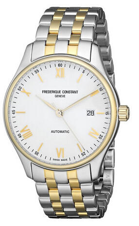 Frederique Constant Men's FC303WN5B3B Two-Tone Stainless Steel Watch